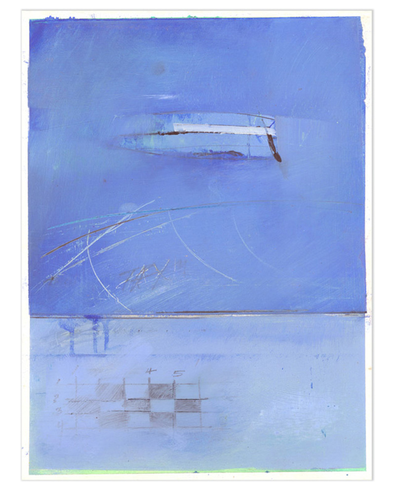 Larry-Berko-Hawaii-Contemporary-Painting-Studies-Waterscape-Untitled-Blue